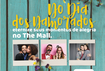 O amor está no ar no The Mall