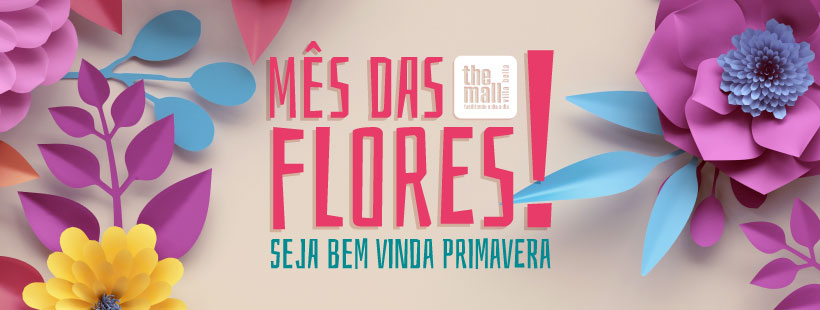Setembro Florido no The Mall