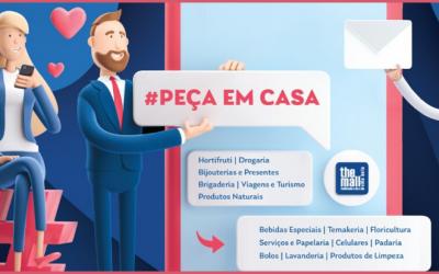 #PecaEmCasa