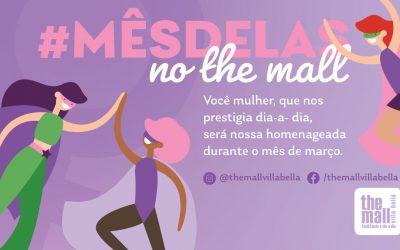 #MesDelas no The Mall – Março 2021