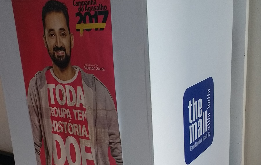 The Mall Villa Bella participa da campanha do agasalho 2017