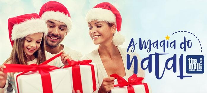 """""""A Magia do Natal"""" chega ao Shopping The Mall Villa Bella"""