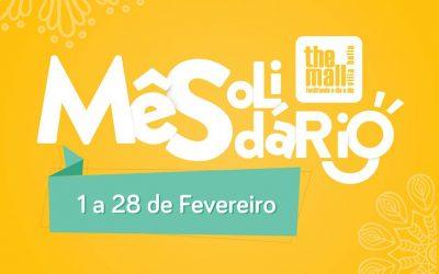 """The Mall estimula """"Mês Solidário"""""""