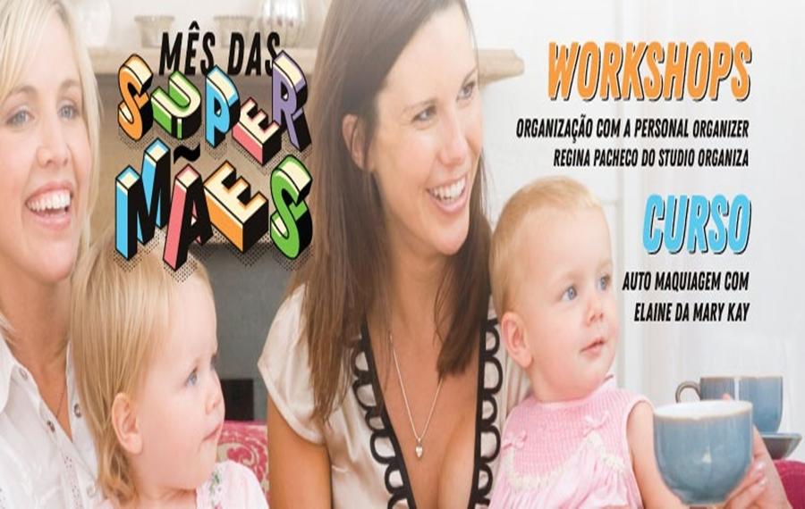 The Mall Villa Bella oferece encontros especiais durante o Mês das Mães