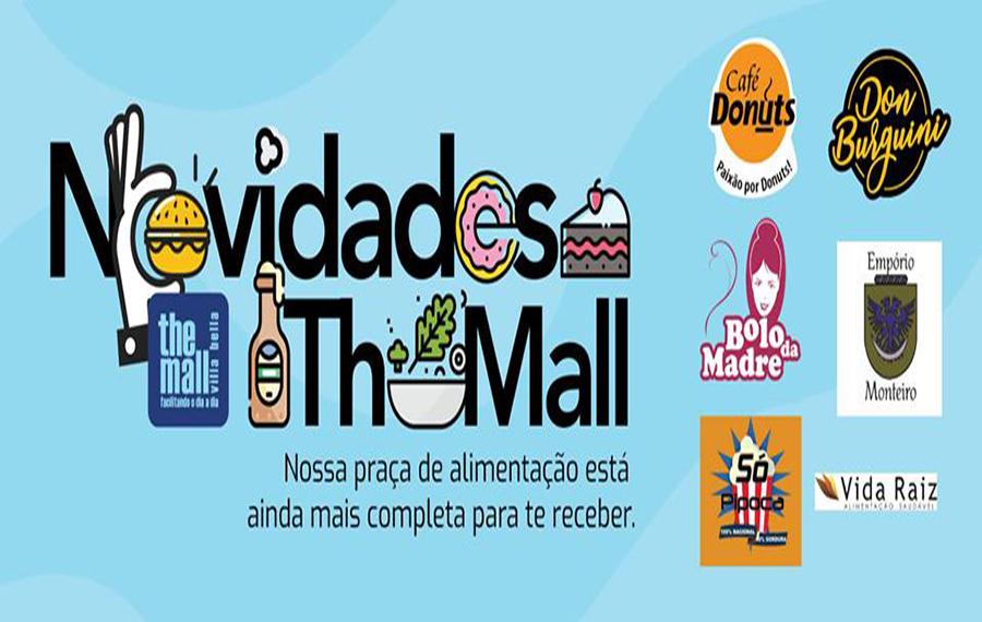 Conheças as novidades da Praça de Alimentação do The Mall
