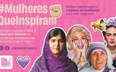 #MulheresQueInspiram